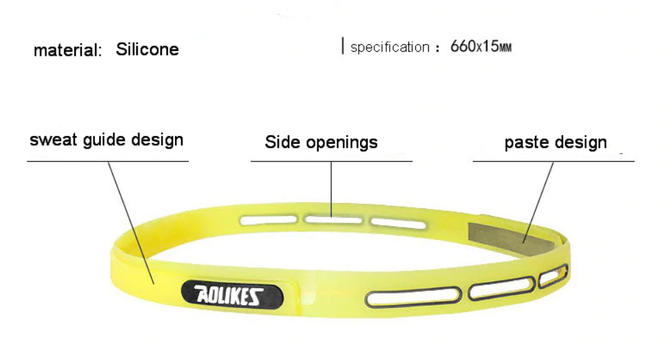 head band sport for man