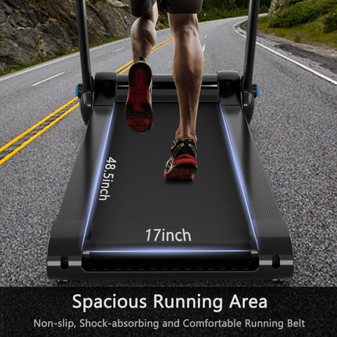 treadmill  with touch display