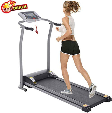 Folding Treadmill Jogging Running Exercise Fitness Machine