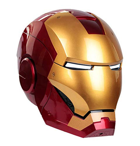 Gmasking Electronically MK3 Wearable Helmet Exclusive 1:1 Props Replica Red,Gold