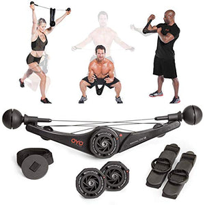 Full Body Portable Bow Set for Exercise at Home, Office or Travel