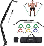 Bow Fitness Home Gym with 6 Resistance Bands