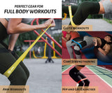 5 Resistance Bands - Home workout