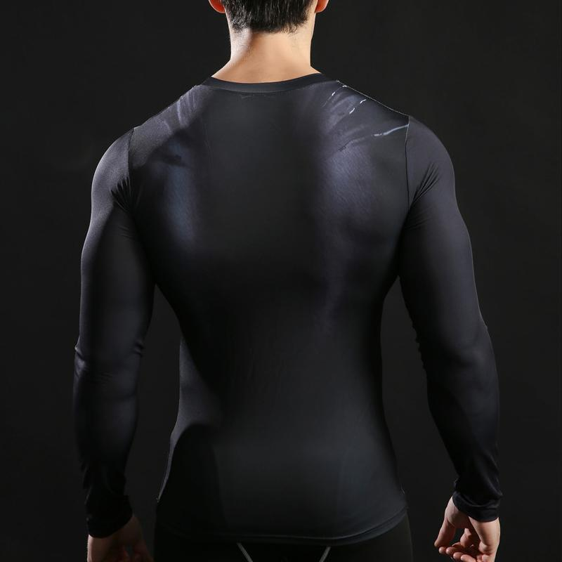 Batman Fitness Compression Long Sleeve