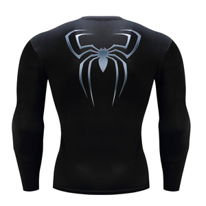 Spiderman Fitness Compression Long Sleeve