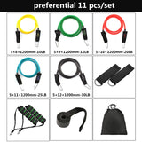 Fitness Resistance Band FULL PACK