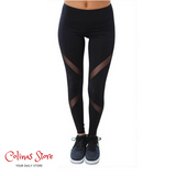 Yoga High Waist Athletic Leggings - Women - Gothic Outdoor Summer Women Yoga