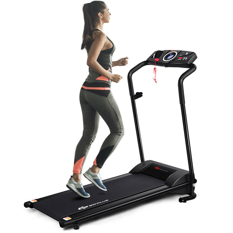 Fitness TR150 Folding Treadmill Black
