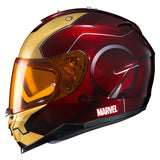 solid Iron-Man Helmet HJC IS-17