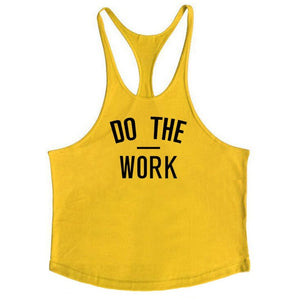 Racerback tank top for workout