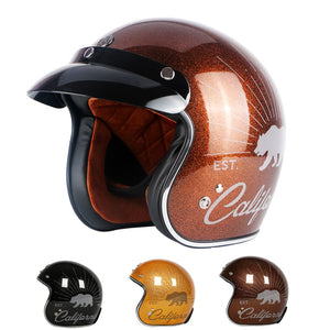 California motorcycle helmet - Vintage open face