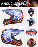 Captain America Marvel Full-Face Helmet for Mtb