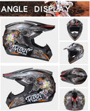 Angle Display  Road Helmet - Full Face -