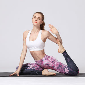Unique printed Yoga Pants