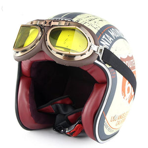Seventies helmet (Goggles included)