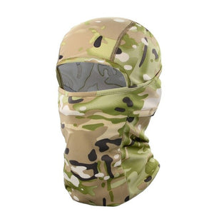 Military Motocross Head Shield