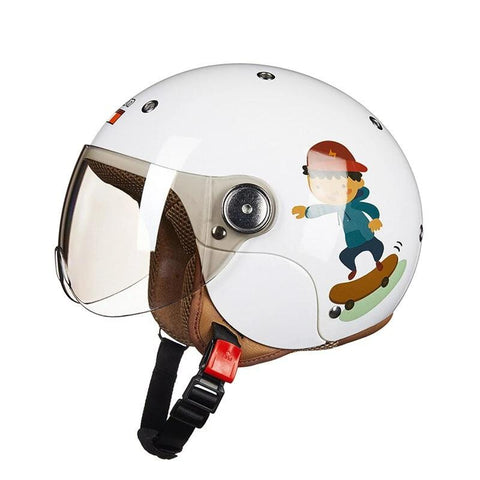 Kids motorcycle helmet
