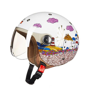 Girls motorcycle helmet