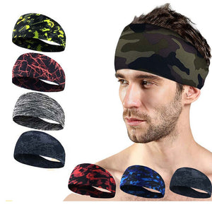 Absorbent Cycling Headband