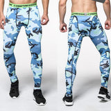 Pro Fitness Leggings - Army Style - Man - Fitness Gym Running