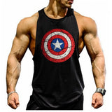 Musculation Captain America Tank top