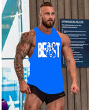 Bodybuilding Fitness Tank Top - Beast - Man - Beast Bodybuilding Gym Man