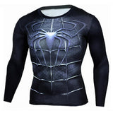 Spiderman Fitness Compression Long Sleeve-Best Superhero Clothes online