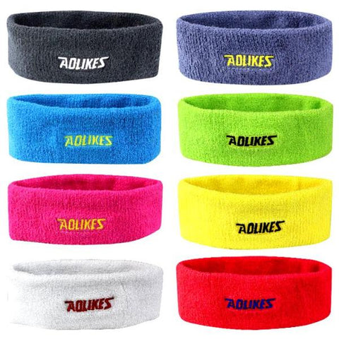 Workout Headbands For Women Men Highly Absorbent - Gym Jogging Women Yoga
