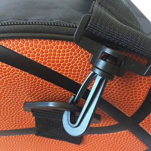 Leather Black Basketball Shoulder Bag