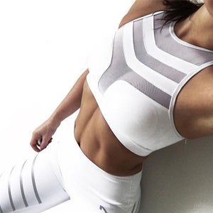 Top Vest Fitness Stretch - Workout Bras - Bra Sportwear Top