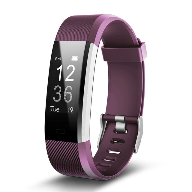 Smart Bracelet With GPS Tracker & Real Time Heart Rate Monitor