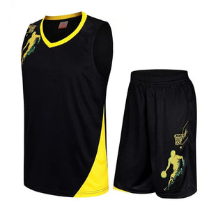 Best-Kids Basketball Jersey Sets-Basketball NBA short-Discount
