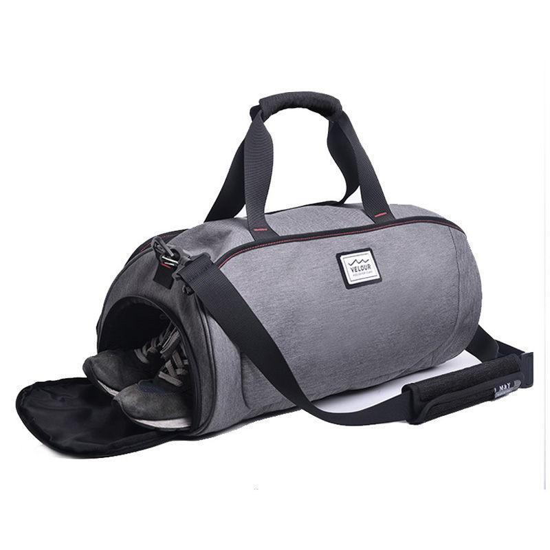 Shoulder Sport Gym Bag With Shoes Storage - Women - Gym Training
