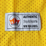 Bad Boy Basketball Jersey Stitched Yellow