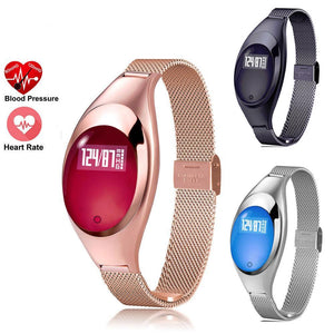 Best-Women Fashion Smart Watch With Blood Pressure Heart Rate Monitor For Android IOS-Women-Discount