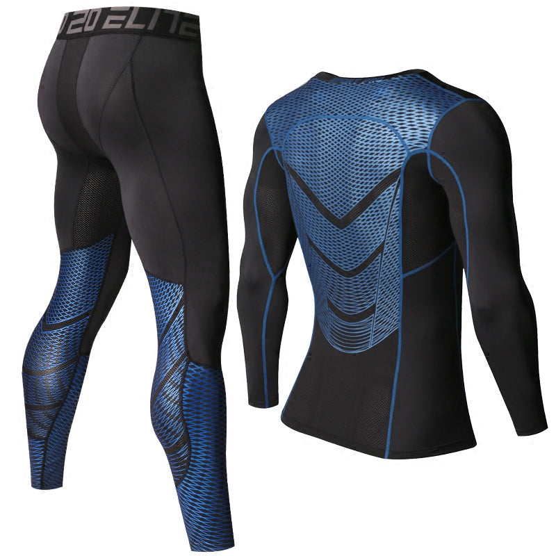 Mma Shirt & Pant Long Sleeve Compression - Man - Bodybuilding Mma