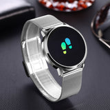 Smart Watch Stainless Steel for Men & Women - Fitness Tracker