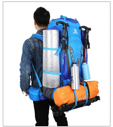80L Camping Hiking Backpacks - superlight Sport Travel Bag