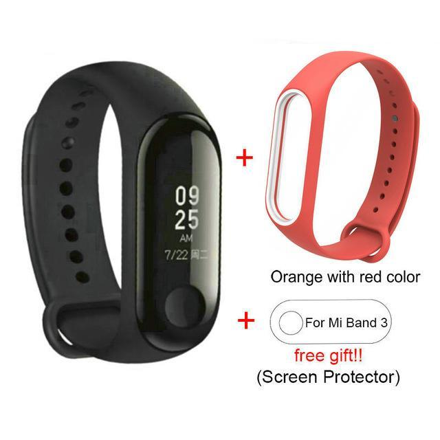 Smart  watch with 3 bracelet wristband - Fitness Tracker for Android
