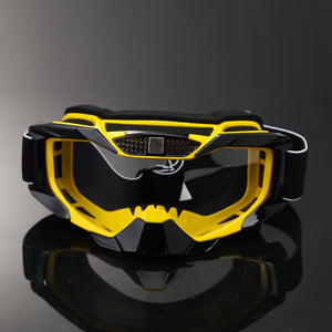 yellow glasses bat man style for  MTB