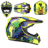 colored full face helmet