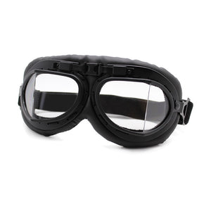 Retro Motorcycle Goggles Glasses - Vintage