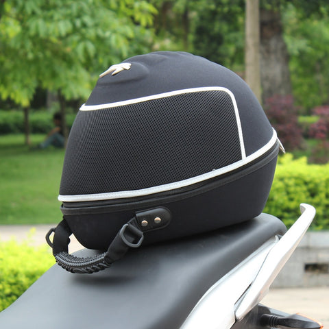 Motorcycle Helmet Bag back seat