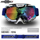 Motocross colored lens Goggles