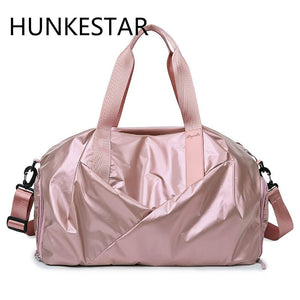 Glossy gym Bag for women