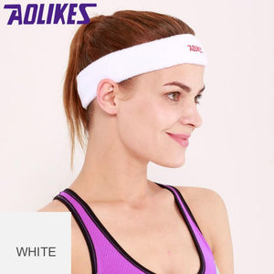 Sport Sweat Headband - Cotton Sweatband Women