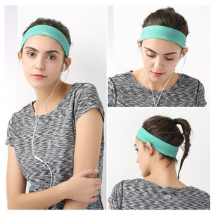 Sport Sweatband - Headband Elastic - Gym Jogging Man Sweatband Women