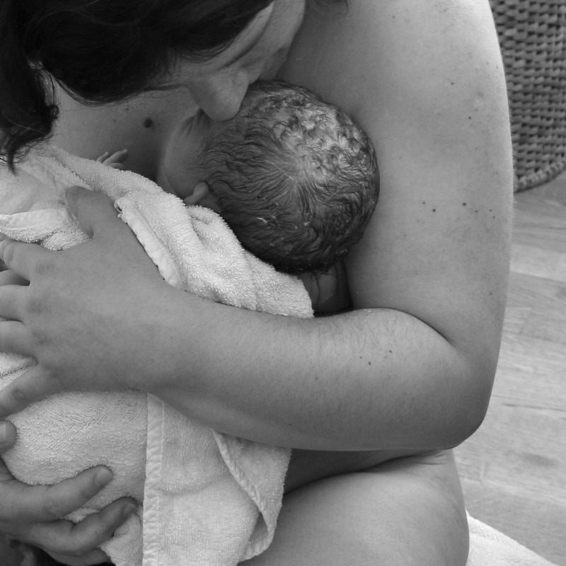 The [secretly planned] Unassisted Birth After Cesarean of baby L