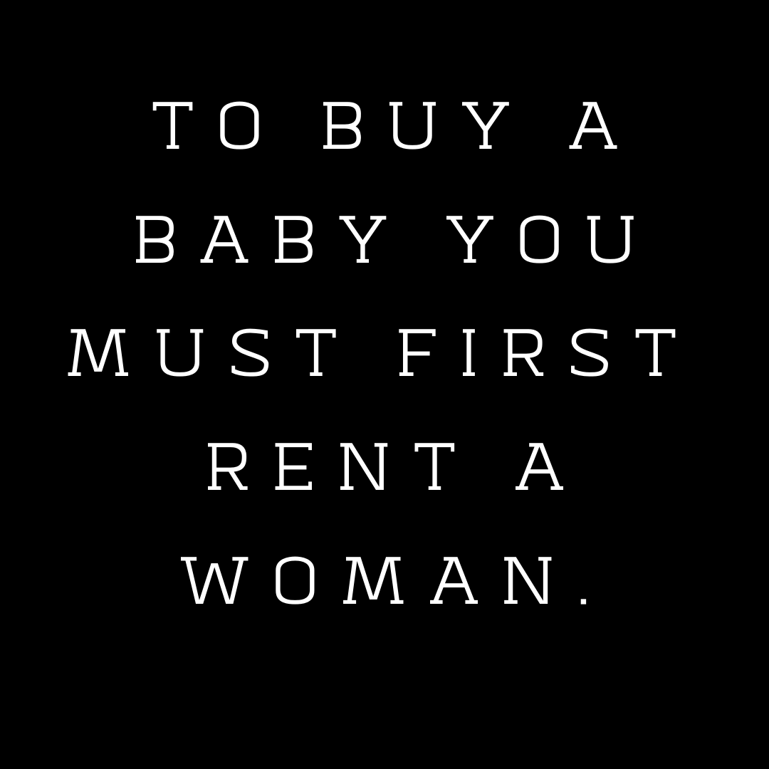 """To Buy a Baby, You Must First Rent a Woman"" with MaryLou Singleton: Surrogacy Series Part 1 of 3"