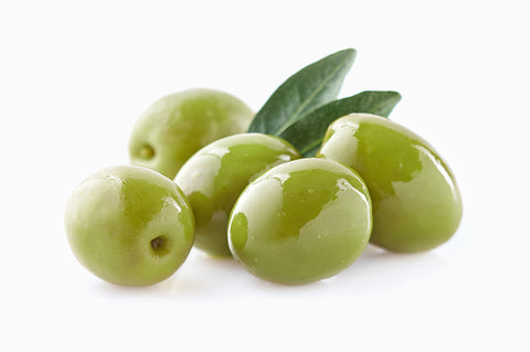 Organic Amfissa Whole Green Olives in Brine 3kg - samnaturaluk